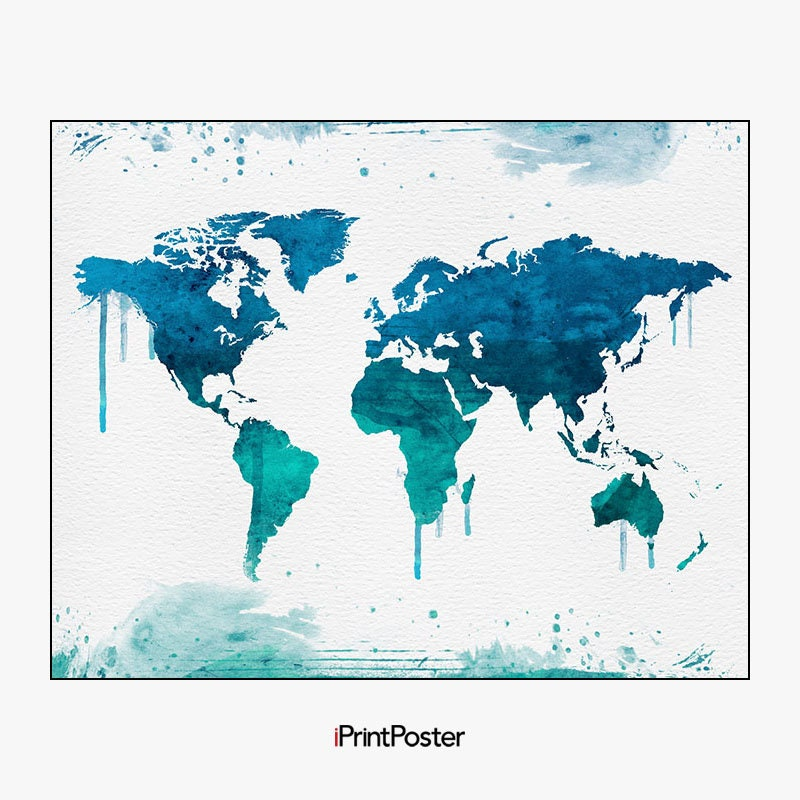 World map wall art world map poster large world map world map art world map wall art world map poster large world map world map art travel map home decor gift travel wall decor iprintposter gumiabroncs