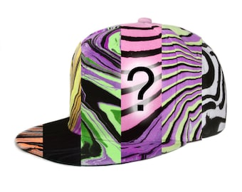 Random Painted BLV Snapback Hat