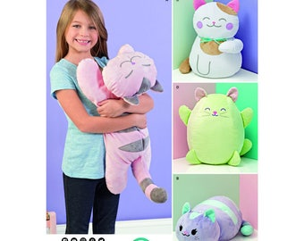 Simplicity Sewing Pattern 8403 Stuffed Kitties