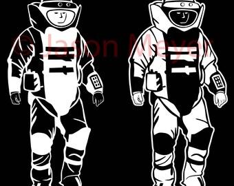 """Bomb Suit - 8"""""""