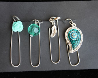 Travelers Notebook Paperclip Accessories Charms, Bling, Junk Journal Gift Set.