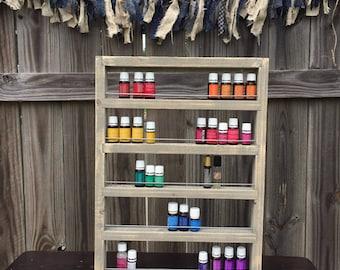 Essential Oil Storage Shelf, Oil Shelf,   Essential Oil Wall Storage, Nail Polish Shelf, Wall Shelf, for 70 15ml bottles