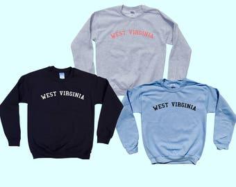 WEST VIRGINIA  - Crewneck Sweatshirt