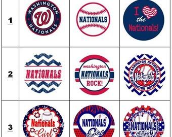 Nationals ID Badge, Nationals Badge, Washington Nationals ID Badge, Washington Nationals Badge, Washington Nationals, Nationals