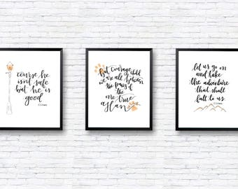 Chronicles of Narnia Print Set