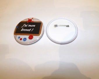 "special badge exams ""I have my patent"" 5.8 cm in diameter"