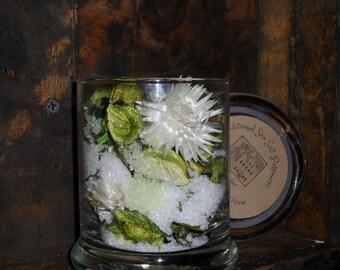 Gardinia Scented Sea Salt Jar Potpourri