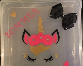 Custom accessory boxes