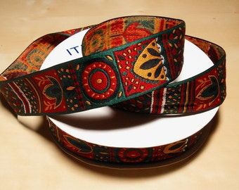 30 Yards of Tribal/ Native American/ Aztec Jacquard Ribbon Trim