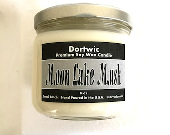 Moon Lake Musk Scented Soy Candle