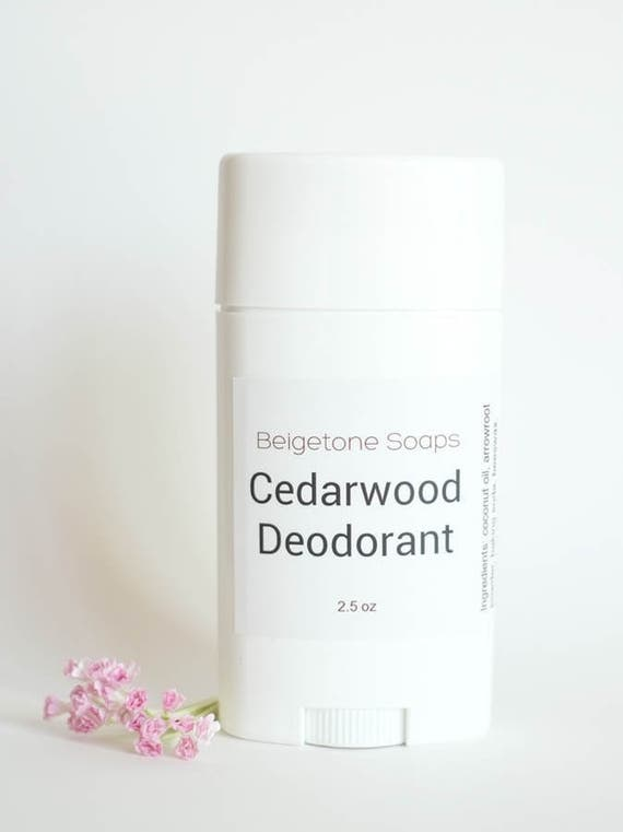 CEDARWOOD Top ODOR CONTROL Twist Up Deodorant | 2.5 oz Twist Applicator | All Natural | Aluminum and Paraben Free
