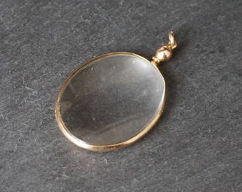 Victorian 9K Gold Double Sided Locket