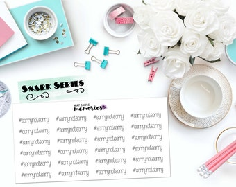"SNARK SERIES: ""#sorrynotsorry"" Paper Planner Stickers!"