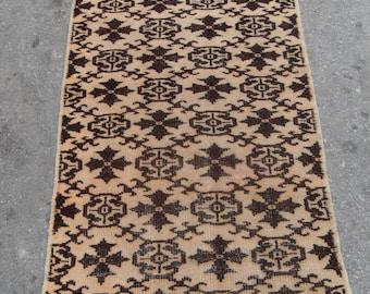 35'' X 72'' rug vintage free shipping VINTAGE TURKİSH ousak rug Anatolian handwoven kilim rug decorative kilim