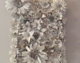 White Flower - Wall Hanging From