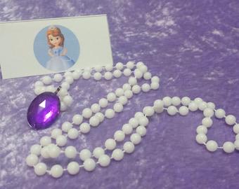 PACK fiesta Sofía el primer amuleto de collar de Avalor (Princesa Sofía)