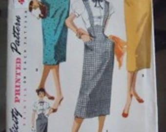 Simplicity Skirt Pattern 1423 Waist 26 Hip 35 Sewing Supplies
