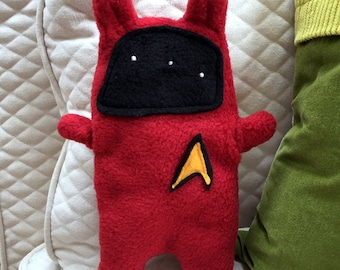 Scotty ~ The Star Trek Bunny Bummlie ~ Stuffing Free Dog Toy ~ Ready To Ship Today