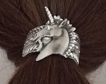 Unicorn pony tail cover