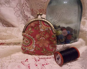 vintage style handbag / coin purse