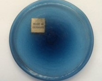 """3"""" Antique Rondel (Navy Blue)  Made in Germany"""