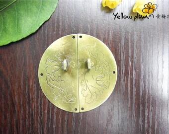 60*60mm Antique Brass Color box latch cabinet latch door latch,can match a lock,A045
