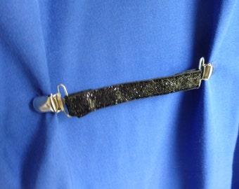 Dress clip, Shirt Clip, Jacket clip, Vest clip, Cinch Clip, Waist cinch, Silver Cinch Clip, Black Cinch Clip