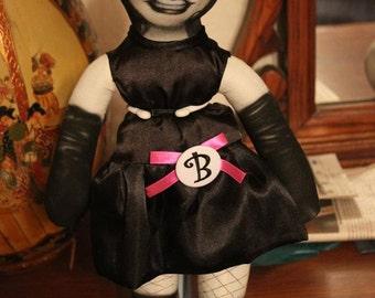 "Custom 17"" Bettie Page doll"