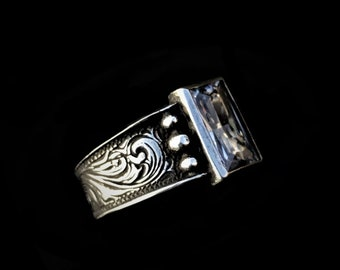 Rockin Out Jewelry - Silverado Ring - Engagement - Valentine's Day - Women's - Classy - Western