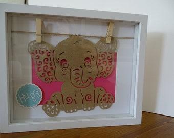 Birth gift frame