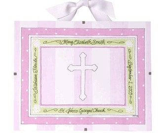 Baptism Gift for Girls - Personalized Christening Gift, Girl's Baptism, Baptism Frame, Confirmation