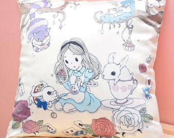 VivianStyle Brand - Alice in wonderland Pillow (Made to Order)