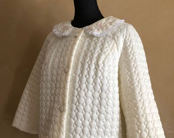 Vintage 60's Barbizon Day Coat -Sleepwear