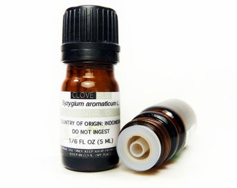 Clove Bud Essential Oil, 5ML or 15ML, 100% PURE & Therapeutic Essential Oil