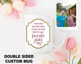 Mother's Day Mug Personalized Mug for Mom Custom Coffee Mug for Mom Mother's Day Custom Gift Photo Mug for Mom Custom Quote Mug Gift for Her