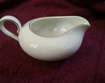 Vintage Milk Can, H & G Selb Bavaria Germany Heinrich Anmut, White, With Golden Border, Tea Service, Tea Set, 18 11 7