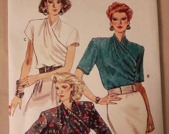 Vogue 7360, Blouse Sewing Pattern