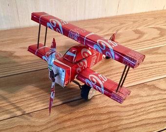 Coca-Cola Tin Airplane