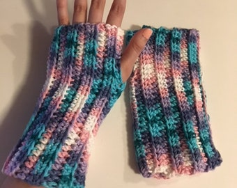 Cozy Pastel Arm Warmers