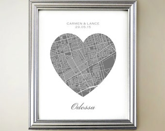 Odessa Heart Map