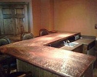 Custom Made Bar Tops (per Square Foot)
