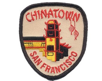 Chinatown San Francisco Patch - California (Iron on)