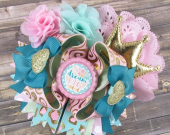 Dream big! Over the top hair bow