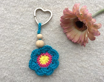 Key ring, crochet