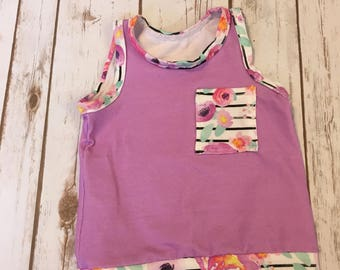 Summer dreams pocket top