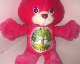 Vintage 1991 Care Bears Collection Environmental Love-A-Lot Bear