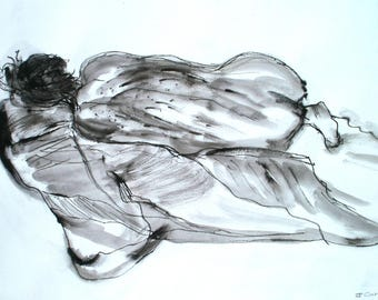 Life Drawing Pen and Ink
