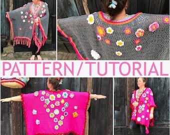 USA/UK Pattern/Tutorial how to make a #polleviekimono