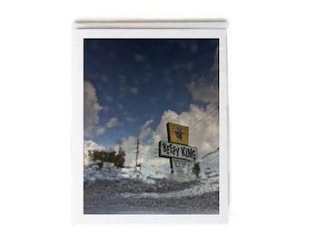 Beefy King Notecard