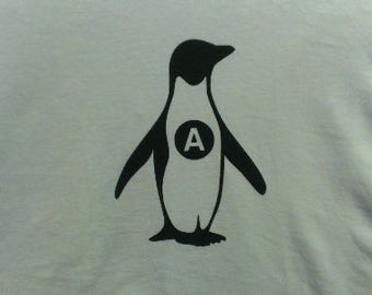 Babies and Toddlers Anarchy Penguin Tot's Tee in Size Newborn, 6 Months, 12 Months, T2, T3, & T4